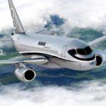 Аренда частного самолета Sukhoi Business Jet в Андорру